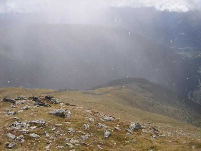 Foto: berglerin / Wander Tour / Gabesitten (2665m) / Leider beginnt es zu schneien / 27.08.2009 17:52:16