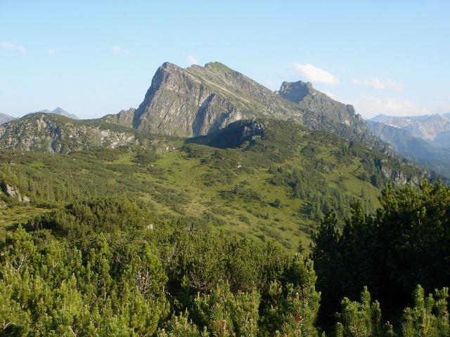 Foto: berglerin / Wander Tour / Hinterer Fager (1967m) / Geissteine im Hintergrund / 27.08.2009 20:02:12