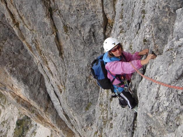 Foto: Manfred Karl / Kletter Tour / Alpinikante / Etwas aufgesteilt ;-) - aber auch so eine herrliche SL! / 28.08.2009 21:25:41