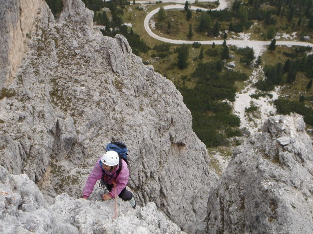 Foto: Manfred Karl / Kletter Tour / Alpinikante / 28.08.2009 21:24:24