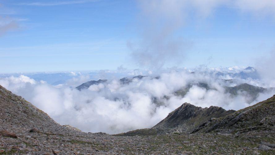 Foto: mark1980 / Wander Tour / Rastkogelhütte - Rastkogel (2762m) / Aussicht beim Auftstieg unterhalb des Gipfels / 29.08.2009 09:45:43
