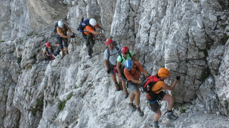 Klettersteig Julische Alpen : Fotogalerie tourfotos fotos zur klettersteig tour