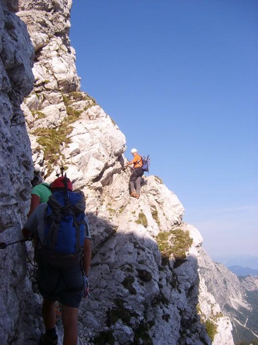 Foto: winsch / Klettersteig Tour / Klettersteig Mala Mojstrovka / 29.08.2009 17:05:51