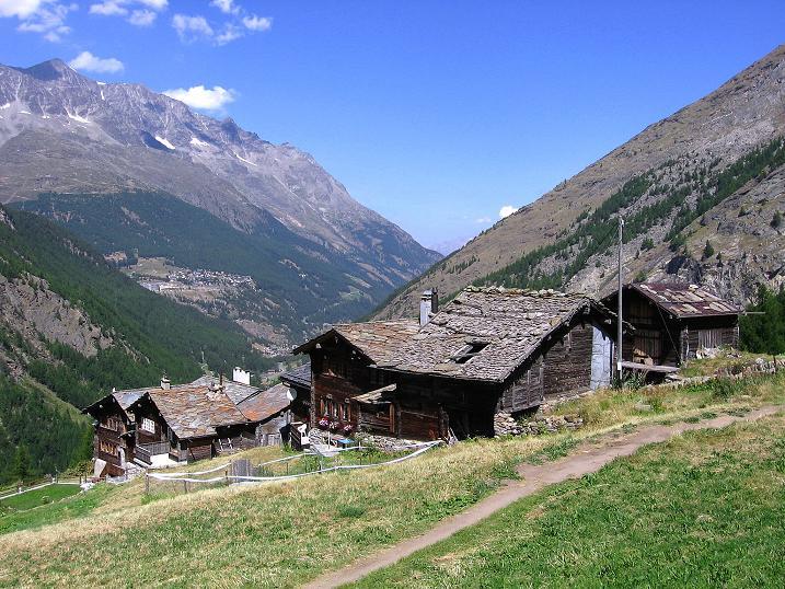 Foto: Andreas Koller / Klettersteigtour / Erlebnisweg Almagellerhorn (1999 m) / Furggstalden / 07.09.2009 23:12:59