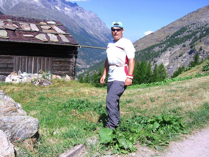 Foto: Andreas Koller / Klettersteigtour / Erlebnisweg Almagellerhorn (1999 m) / 07.09.2009 23:12:47