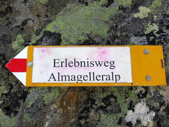 Foto: Andreas Koller / Klettersteigtour / Erlebnisweg Almagellerhorn (1999 m) / 07.09.2009 23:12:13
