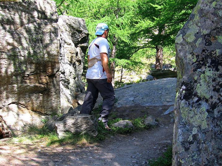 Foto: Andreas Koller / Klettersteig Tour / Erlebnisweg Almagellerhorn (1999 m) / 07.09.2009 23:11:24