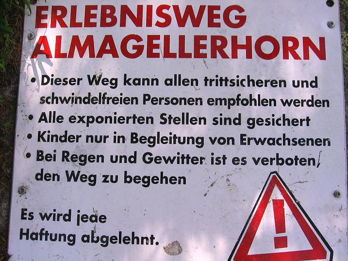 Foto: Andreas Koller / Klettersteigtour / Erlebnisweg Almagellerhorn (1999 m) / 07.09.2009 23:11:16