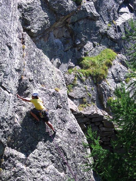 Foto: Andreas Koller / Klettersteigtour / Erlebnisweg Almagellerhorn (1999 m) / 07.09.2009 23:09:57