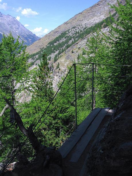 Foto: Andreas Koller / Klettersteig Tour / Erlebnisweg Almagellerhorn (1999 m) / 07.09.2009 23:06:52