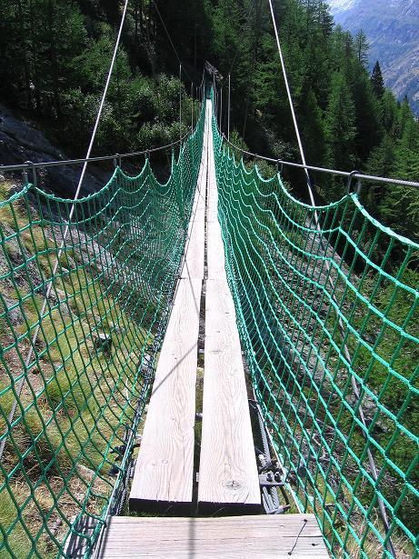 Foto: Andreas Koller / Klettersteig Tour / Erlebnisweg Almagellerhorn (1999 m) / 07.09.2009 23:05:18