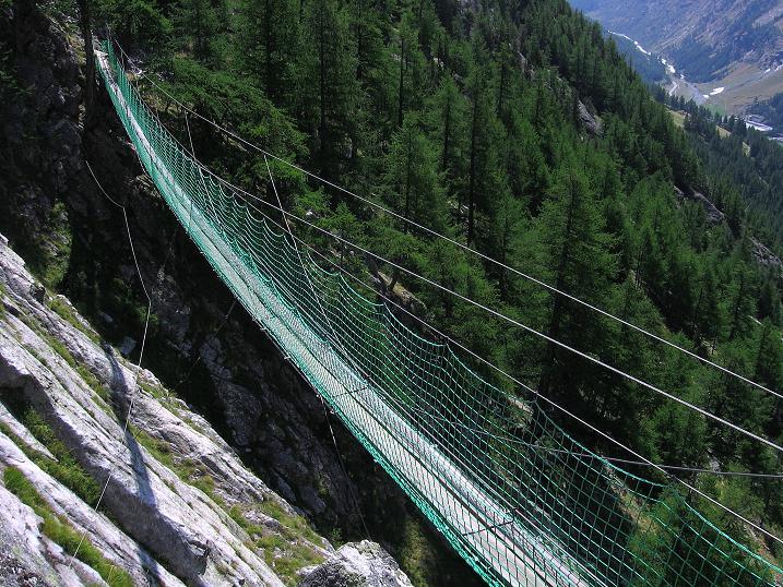 Foto: Andreas Koller / Klettersteigtour / Erlebnisweg Almagellerhorn (1999 m) / 07.09.2009 23:04:02