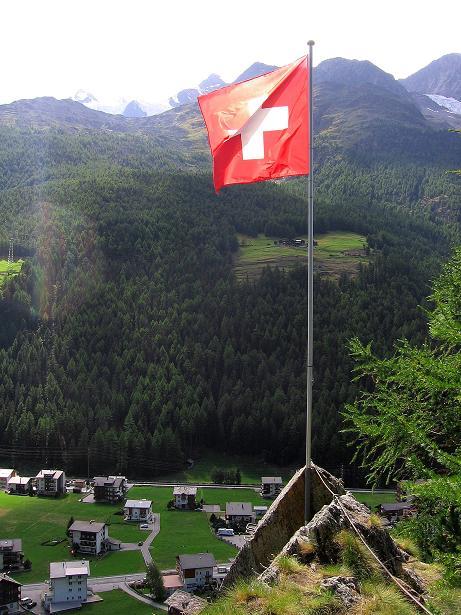 Foto: Andreas Koller / Klettersteig Tour / Mini-Klettersteig Saas Grund (1670 m) / 03.09.2009 20:31:04