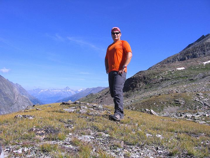 Foto: Andreas Koller / Wander Tour / Stelli - Aussichtsloge über dem Stausee Mattmark (3357 m) / 03.09.2009 23:36:55