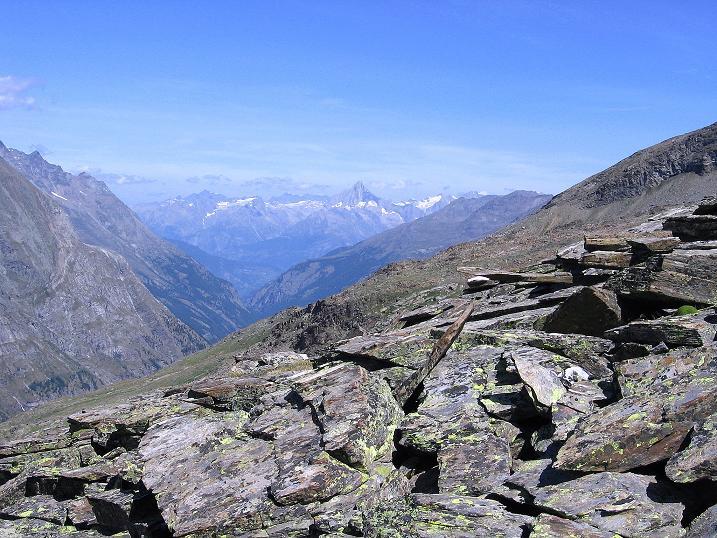 Foto: Andreas Koller / Wander Tour / Stelli - Aussichtsloge über dem Stausee Mattmark (3357 m) / 03.09.2009 23:35:39