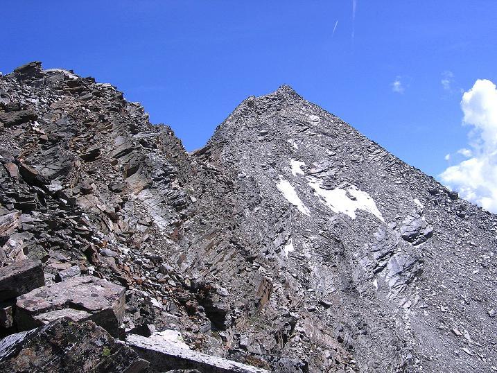 Foto: Andreas Koller / Wander Tour / Stelli - Aussichtsloge über dem Stausee Mattmark (3357 m) / Stelli und Stellihorn (3436 m) / 03.09.2009 23:32:56