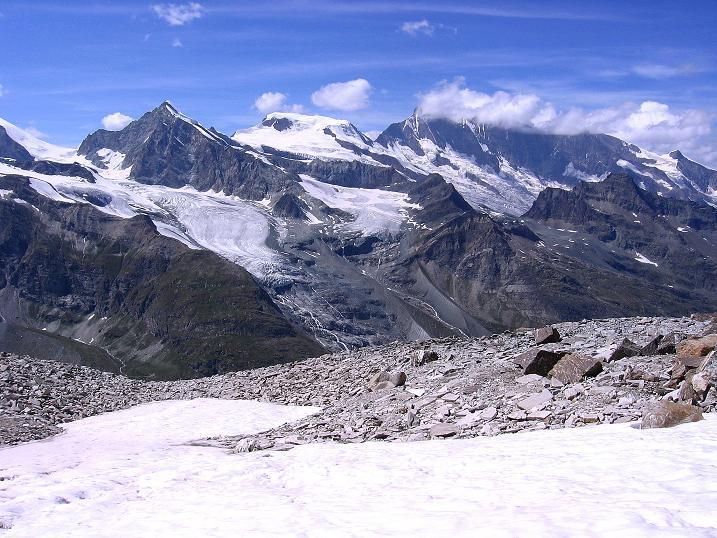 Foto: Andreas Koller / Wander Tour / Stelli - Aussichtsloge über dem Stausee Mattmark (3357 m) / 03.09.2009 23:30:44