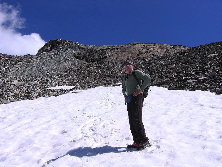 Foto: Andreas Koller / Wander Tour / Stelli - Aussichtsloge über dem Stausee Mattmark (3357 m) / 03.09.2009 23:30:35