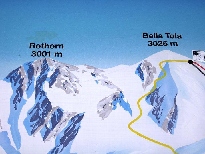 Foto: Andreas Koller / Wander Tour / Bella Tola - Aussichtsbalkon der Walliser Alpen (3026 m) / 05.09.2009 18:51:32