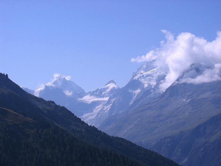Foto: Andreas Koller / Wander Tour / Bella Tola - Aussichtsbalkon der Walliser Alpen (3026 m) / 05.09.2009 18:50:53