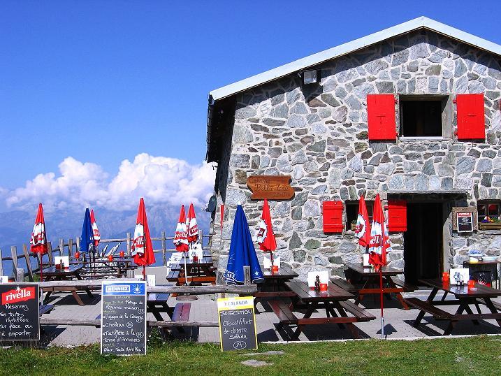 Foto: Andreas Koller / Wander Tour / Bella Tola - Aussichtsbalkon der Walliser Alpen (3026 m) / Cabane Bella Tola / 05.09.2009 18:50:41