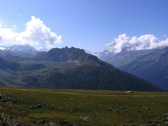 Foto: Andreas Koller / Wander Tour / Bella Tola - Aussichtsbalkon der Walliser Alpen (3026 m) / 05.09.2009 18:49:37