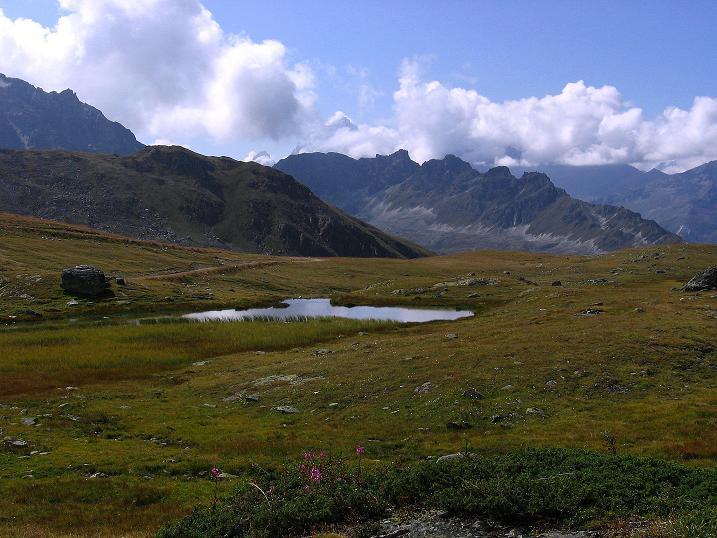 Foto: Andreas Koller / Wander Tour / Bella Tola - Aussichtsbalkon der Walliser Alpen (3026 m) / 05.09.2009 18:49:00
