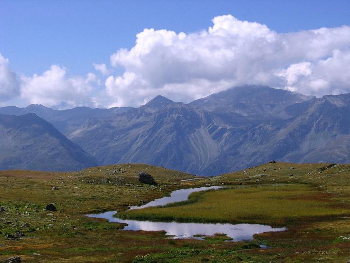 Foto: Andreas Koller / Wander Tour / Bella Tola - Aussichtsbalkon der Walliser Alpen (3026 m) / 05.09.2009 18:48:52