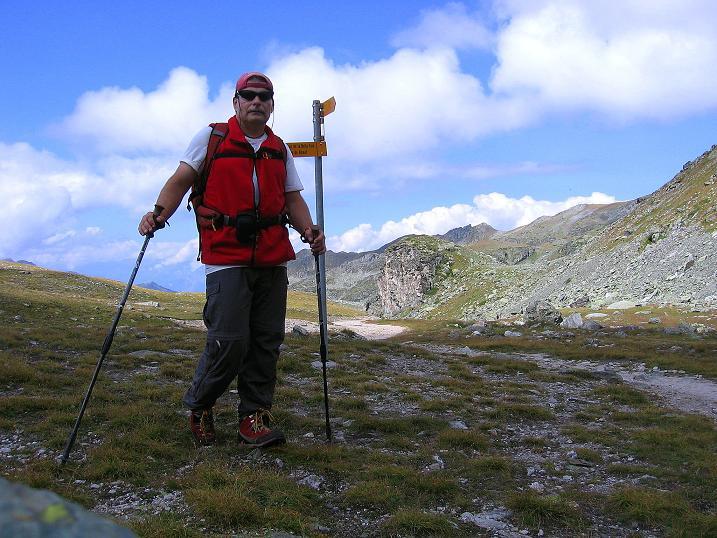 Foto: Andreas Koller / Wander Tour / Bella Tola - Aussichtsbalkon der Walliser Alpen (3026 m) / 05.09.2009 18:47:59