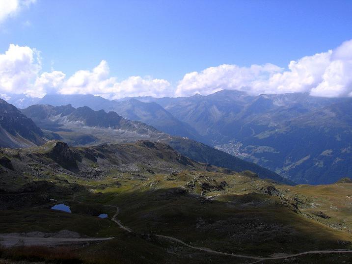 Foto: Andreas Koller / Wander Tour / Bella Tola - Aussichtsbalkon der Walliser Alpen (3026 m) / 05.09.2009 18:47:51