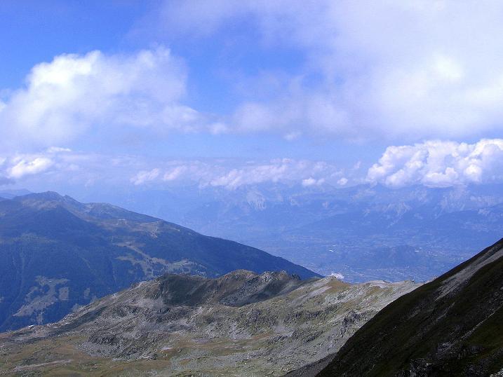 Foto: Andreas Koller / Wander Tour / Bella Tola - Aussichtsbalkon der Walliser Alpen (3026 m) / 05.09.2009 18:46:19