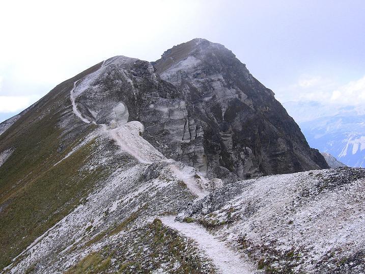 Foto: Andreas Koller / Wander Tour / Bella Tola - Aussichtsbalkon der Walliser Alpen (3026 m) / Rothorn / 05.09.2009 18:46:11