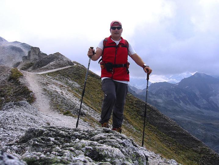 Foto: Andreas Koller / Wander Tour / Bella Tola - Aussichtsbalkon der Walliser Alpen (3026 m) / 05.09.2009 18:46:00