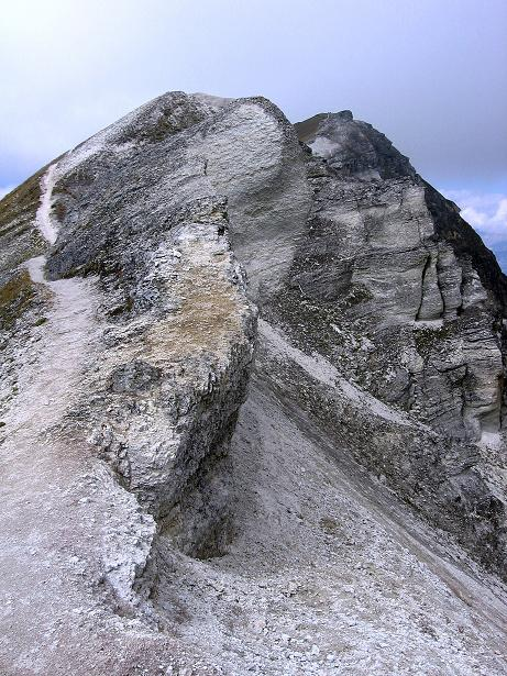 Foto: Andreas Koller / Wander Tour / Bella Tola - Aussichtsbalkon der Walliser Alpen (3026 m) / Grat zum Rothorn / 05.09.2009 18:45:40