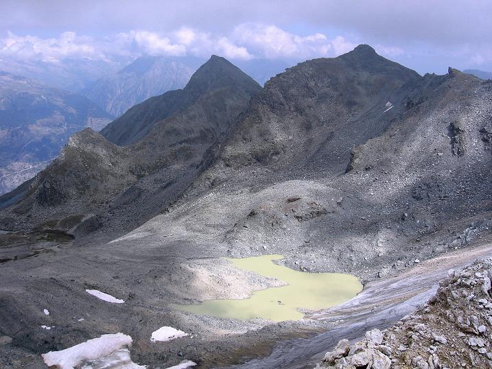 Foto: Andreas Koller / Wander Tour / Bella Tola - Aussichtsbalkon der Walliser Alpen (3026 m) / 05.09.2009 18:45:26