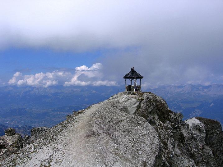 Foto: Andreas Koller / Wander Tour / Bella Tola - Aussichtsbalkon der Walliser Alpen (3026 m) / Am Rothorn / 05.09.2009 18:43:28