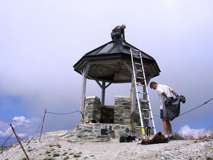 Foto: Andreas Koller / Wander Tour / Bella Tola - Aussichtsbalkon der Walliser Alpen (3026 m) / 05.09.2009 18:43:19