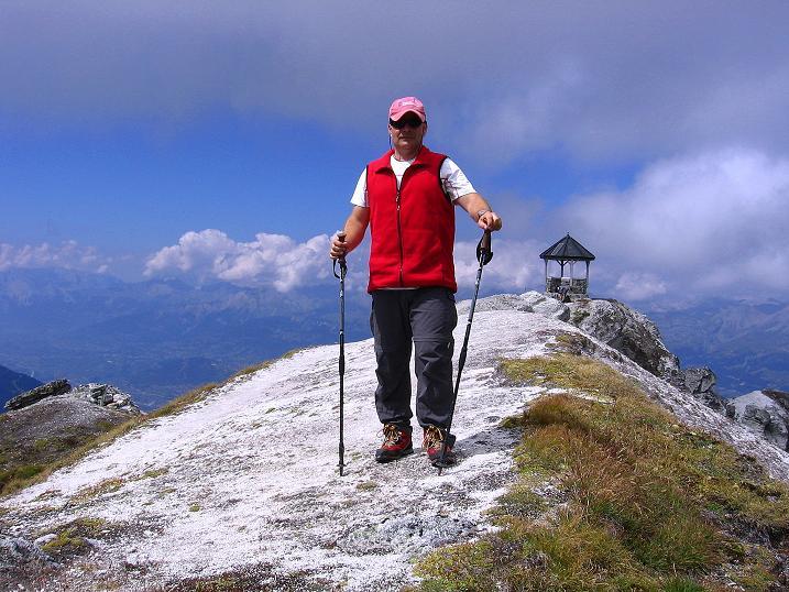 Foto: Andreas Koller / Wander Tour / Bella Tola - Aussichtsbalkon der Walliser Alpen (3026 m) / 05.09.2009 18:42:38