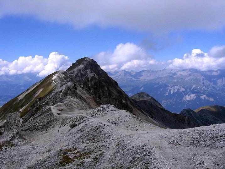 Foto: Andreas Koller / Wander Tour / Bella Tola - Aussichtsbalkon der Walliser Alpen (3026 m) / Rothorn / 05.09.2009 18:41:46