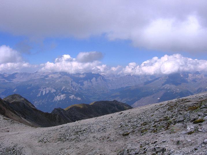Foto: Andreas Koller / Wander Tour / Bella Tola - Aussichtsbalkon der Walliser Alpen (3026 m) / 05.09.2009 18:41:34