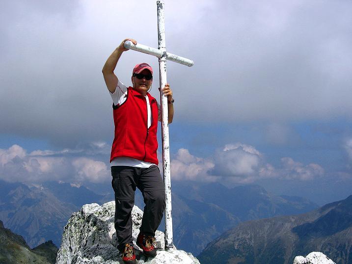 Foto: Andreas Koller / Wander Tour / Bella Tola - Aussichtsbalkon der Walliser Alpen (3026 m) / 05.09.2009 18:41:03