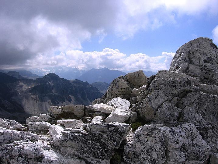 Foto: Andreas Koller / Wander Tour / Bella Tola - Aussichtsbalkon der Walliser Alpen (3026 m) / 05.09.2009 18:40:56