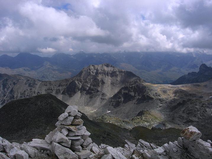Foto: Andreas Koller / Wander Tour / Bella Tola - Aussichtsbalkon der Walliser Alpen (3026 m) / 05.09.2009 18:40:26