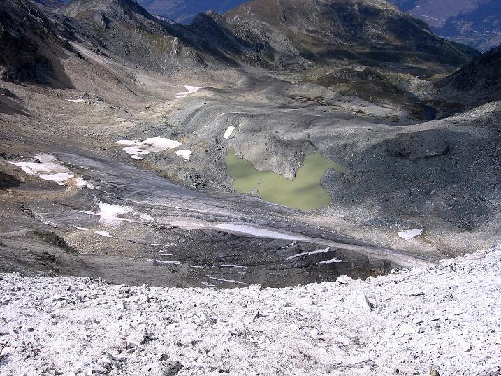 Foto: Andreas Koller / Wander Tour / Bella Tola - Aussichtsbalkon der Walliser Alpen (3026 m) / 05.09.2009 18:39:49