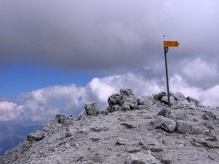 Foto: Andreas Koller / Wander Tour / Bella Tola - Aussichtsbalkon der Walliser Alpen (3026 m) / 05.09.2009 18:39:39