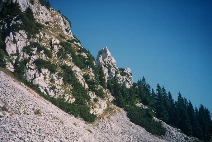 Foto: Manfred Karl / Kletter Tour / Klettern am Roßstein und an der Roßsteinnadel / Roßsteinnadel / 14.06.2011 22:45:05