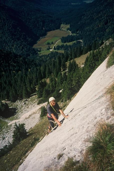 Foto: Manfred Karl / Kletter Tour / Klettern am Roßstein und an der Roßsteinnadel / Klettern an der Sonnenplatte / 14.06.2011 22:44:00
