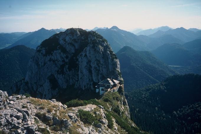 Foto: Manfred Karl / Kletter Tour / Klettern am Roßstein und an der Roßsteinnadel / Buchstein vom Roßstein / 14.06.2011 22:43:36