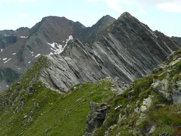 Foto: Manfred Karl / Wander Tour / Auf den Hausberg der Lodnerhütte / Der Grat zur Gfallwand / 31.08.2009 15:48:37