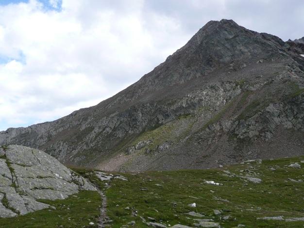 Foto: Manfred Karl / Wander Tour / Auf den Hausberg der Lodnerhütte / Rückblick zum Blasiuszeiger / 31.08.2009 15:46:48